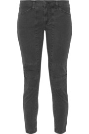 Ginger stretch-cotton twill skinny pants