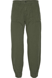 Tavi cotton-twill tapered pants