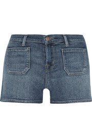 J Brand Jessica stretch-denim shorts