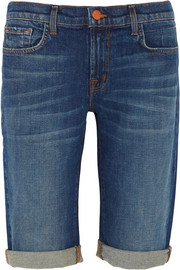 J Brand Beau Bermuda stretch-denim shorts
