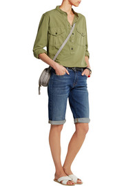 Beau Bermuda stretch-denim shorts