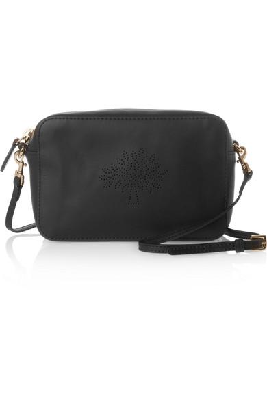 25bbfc4f27 Mulberry | Blossom perforated leather shoulder bag | NET-A-PORTER.COM