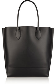 Blossom perforated leather tote