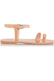 Finds + Elina Lebessi Athina embellished leather sandals