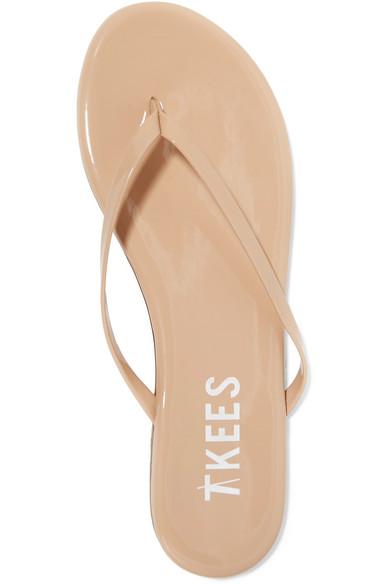 Tkees  Foundations Gloss Patent-Leather Flip Flops  Net-A-Portercom-6013