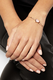 GOSH 10-karat rose gold crystal bracelet