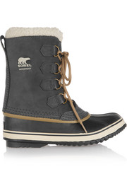 1964 Pac waterproof suede and rubber boots