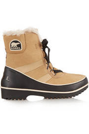 Tivoli II waterproof suede and leather boots