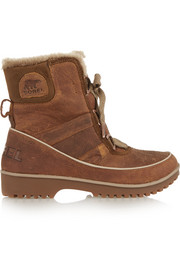 Sorel Tivoli II Premium waterproof textured-leather boots
