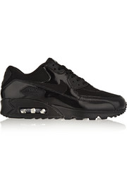 Air Max 90 Premium leather, mesh and suede sneakers