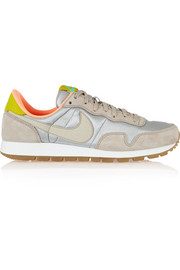 Air Pegasus 83 suede, leather and mesh sneakers
