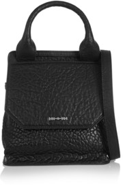 Ruin mini textured-leather shoulder bag