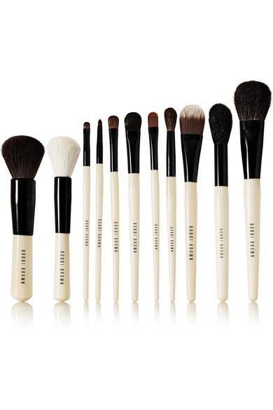 bobbi brown brushes. bobbi brown. edit brush set brown brushes t