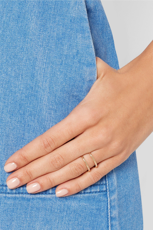 Melissa Joy Manning 14-karat gold ring
