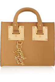 Sophie Hulme Box leather shoulder bag