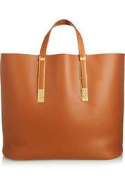 Sophie Hulme Extendable leather tote