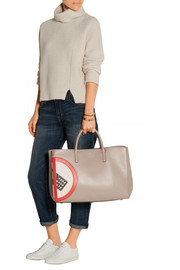 Anya Hindmarch Ebury Maxi No Mobile leather tote