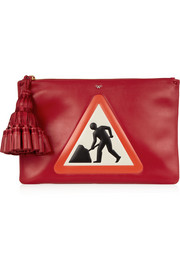 Georgiana Men At Work leather clutch