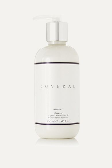 SOVERAL AWAKEN CLEANSER, 250ML - COLORLESS