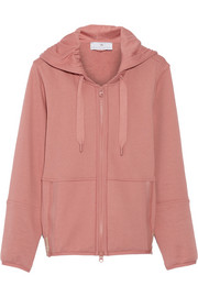 Essentials cotton-blend hooded top