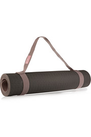 Embossed foam yoga mat