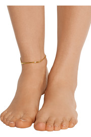 Love Bite gold-plated anklet
