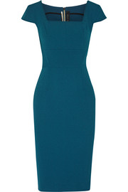 Jeddler stretch-crepe dress