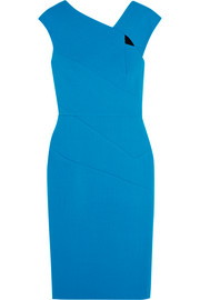 Roland Mouret Barkis wool-crepe dress