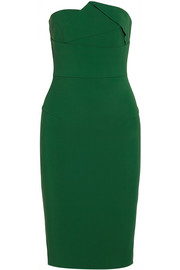 Esther strapless stretch-crepe dress