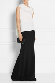 Aries crepe maxi skirt