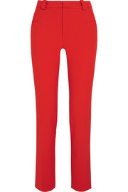 Lacerta crepe straight-leg pants