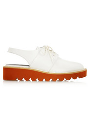 Stella McCartney Odette faux leather slingback plaftorm loafers
