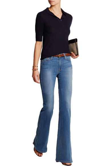 FRAME | Le Forever Karlie Flare high-rise jeans | NET-A-PORTER.COM