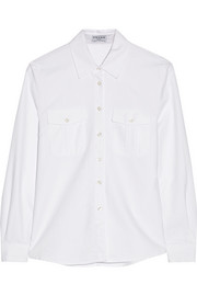 Le Boyfriend cotton Oxford shirt