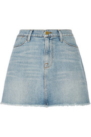 Le High denim mini skirt