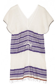 Safara cotton-blend gauze tunic