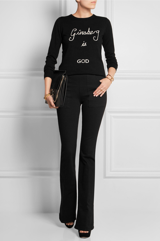 Bella Freud Ginsberg is God merino wool sweater