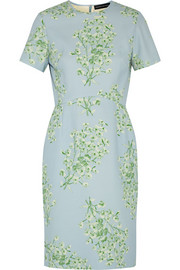 Jodie floral-print crepe dress