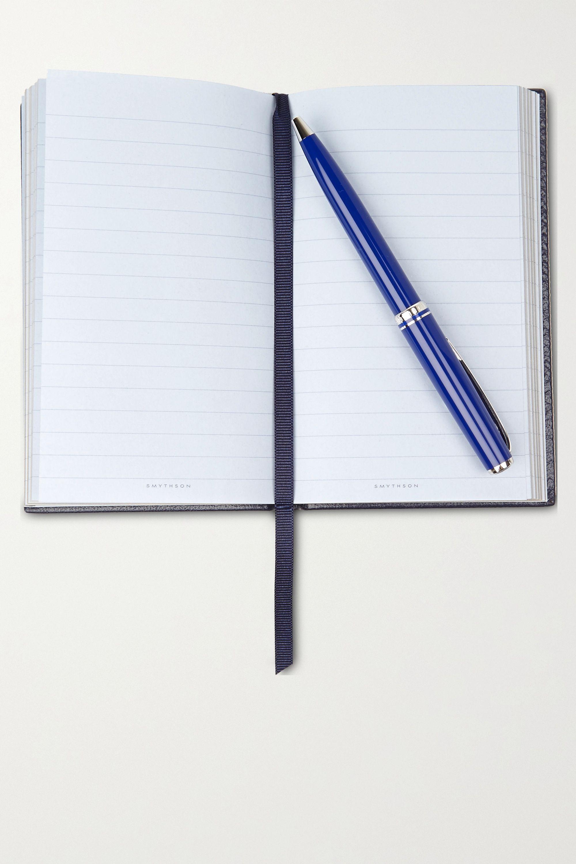 Smythson Panama Inspirations And Ideas Notizbuch aus strukturiertem Leder