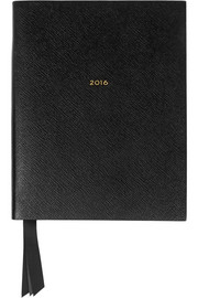 Portobello 2016 textured-leather diary