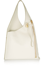 Alix Hobo textured-leather shoulder bag