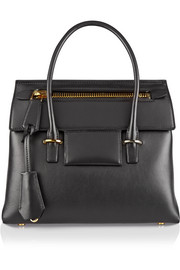 Icon medium leather tote