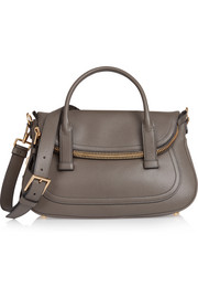 Tom Ford Jennifer medium textured-leather tote