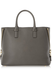 Tom Ford Jennifer textured-leather tote