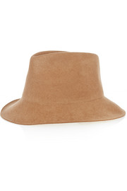 Stella McCartney Wool-felt trilby