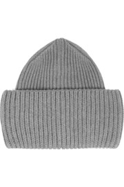 Stella McCartney Ribbed-knit wool beanie
