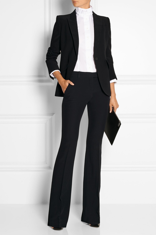 Alexander McQueen Crepe blazer