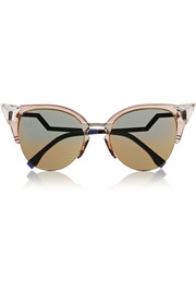 Crystal-embellished cat eye Optyl™ sunglasses