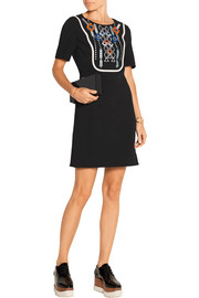 Peter Pilotto Atari embellished crepe mini dress