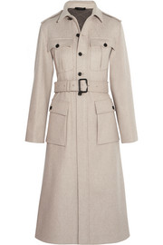 Mili felted wool-blend coat